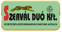 Szervál Duó Kft hintaágy logó