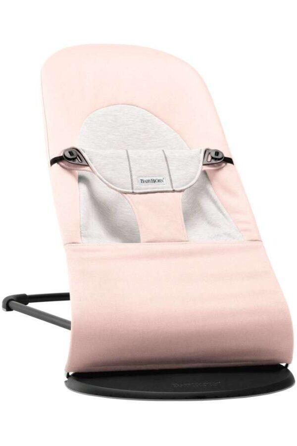 BabyBjörn Balance Pihenőszék - Soft Jersey - világosrózsaszín