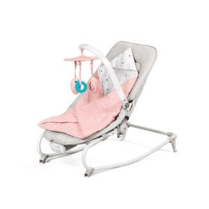 Kinderkraft Felio rezgő-zenélő Pihenőszék - rózsaszín