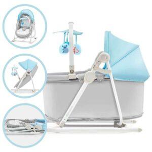 Kinderkraft Unimo 5in1 Pihenőszék - kék-szürke