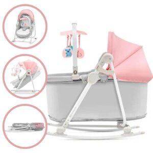 Kinderkraft Unimo 5in1 Pihenőszék - rózsaszín-szürke