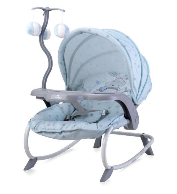 Lorelli Dream Time Pihenőszék - Nyuszi - kék